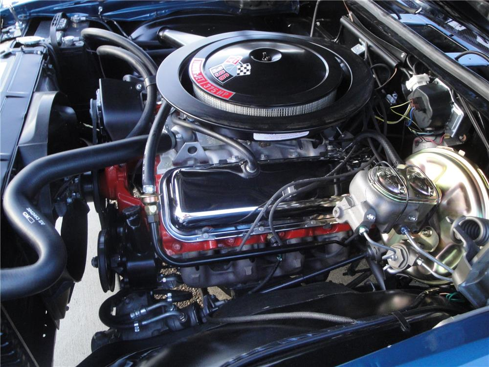 1970 CHEVROLET CHEVELLE SS 396 - Engine - 180874