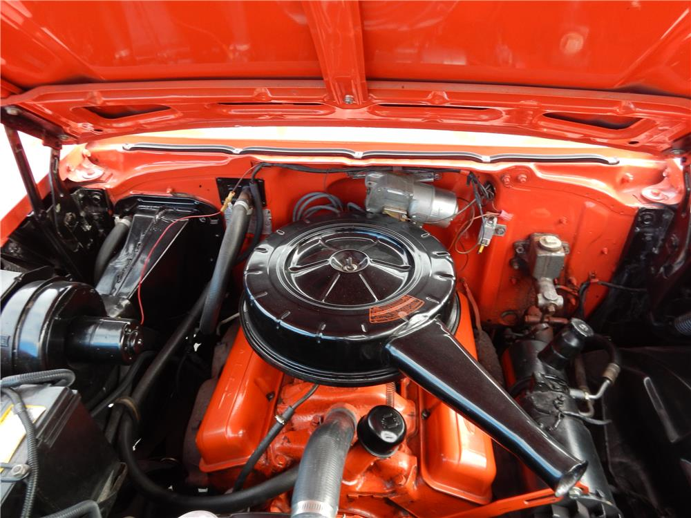 1957 CHEVROLET BEL AIR CONVERTIBLE - Engine - 180879