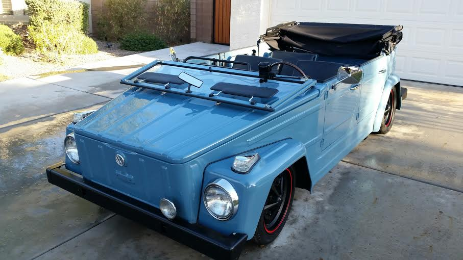 1974 VOLKSWAGEN THING CONVERTIBLE - Side Profile - 180903