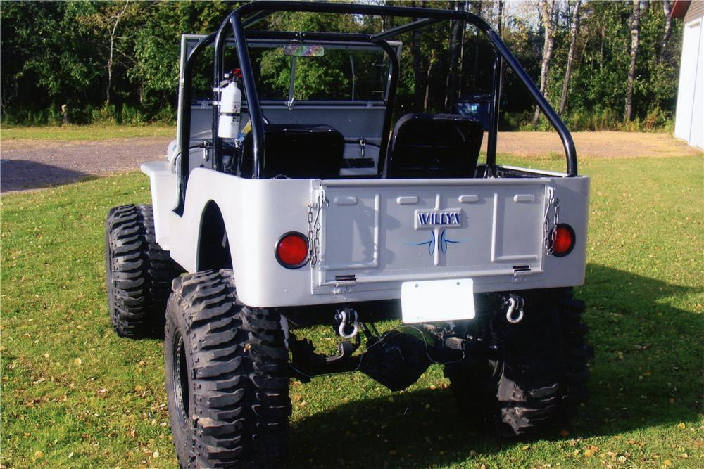 1948 WILLYS CJ2A CUSTOM JEEP - Rear 3/4 - 180907