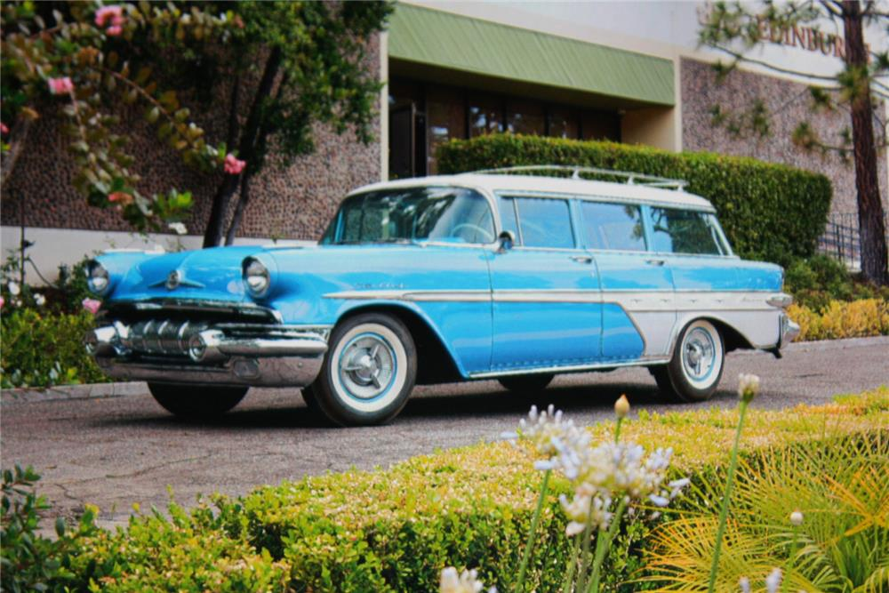 1957 Pontiac Star Chief Custom Safari Wagon 180910