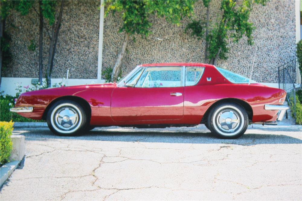 1963 STUDEBAKER AVANTI - Side Profile - 180914