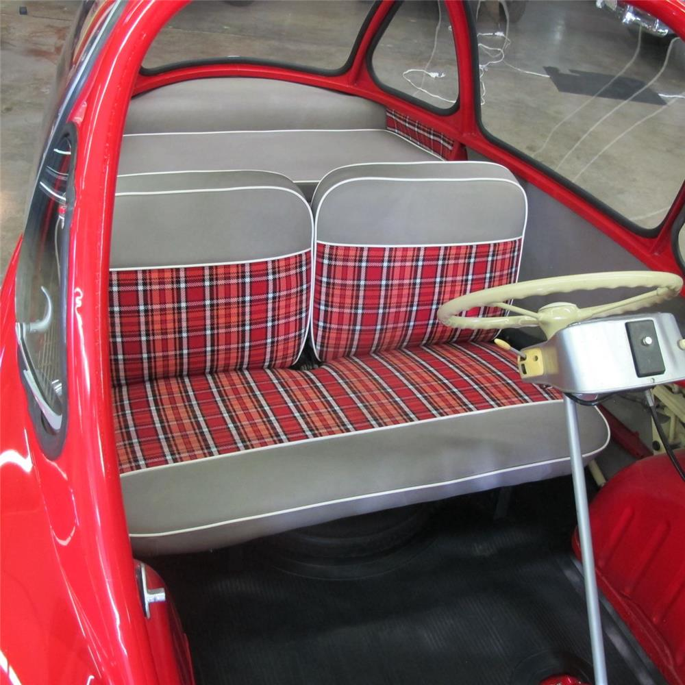 1963 HEINKEL TROJAN 1 DOOR COUPE - Interior - 180922