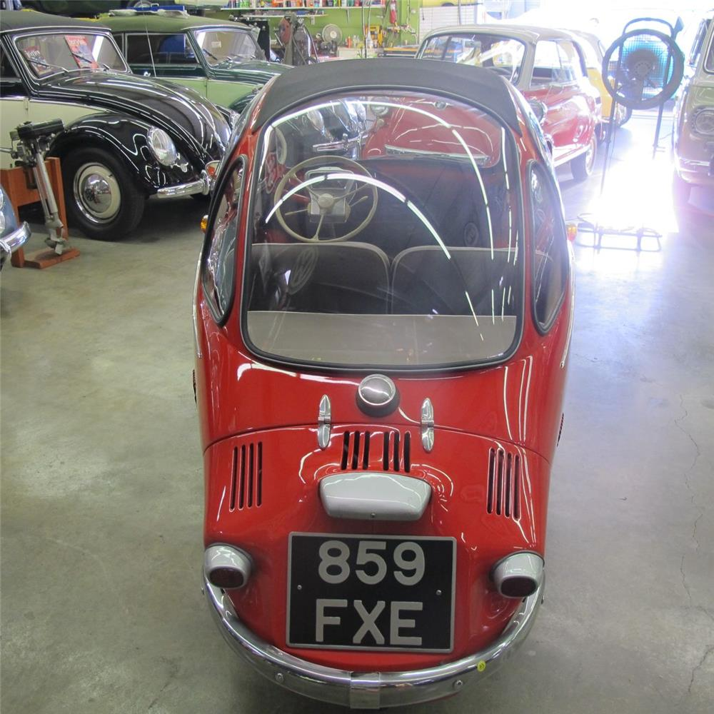 1963 HEINKEL TROJAN 1 DOOR COUPE - Rear 3/4 - 180922