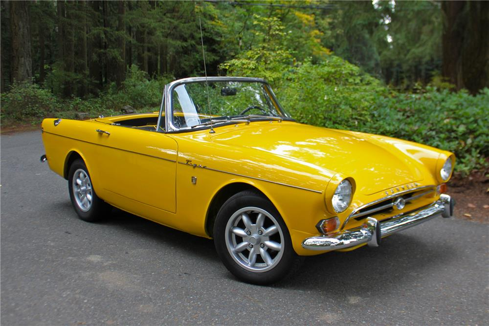 1965 SUNBEAM TIGER CONVERTIBLE - Front 3/4 - 180924