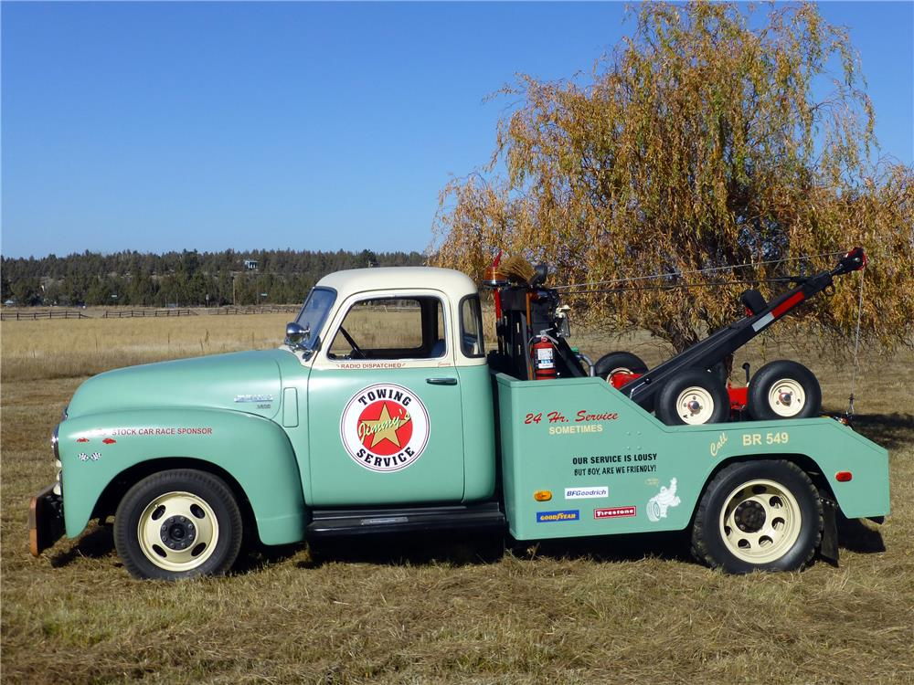1949 CHEVROLET 3800 TOW TRUCK - Side Profile - 180933
