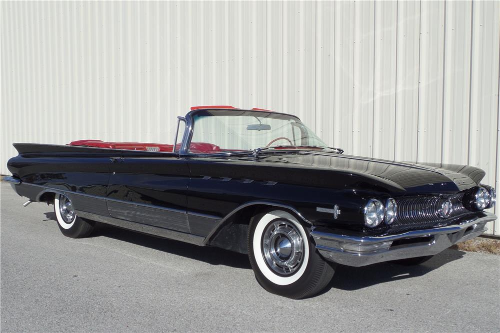 1960 BUICK ELECTRA 225 CONVERTIBLE - Front 3/4 - 180938