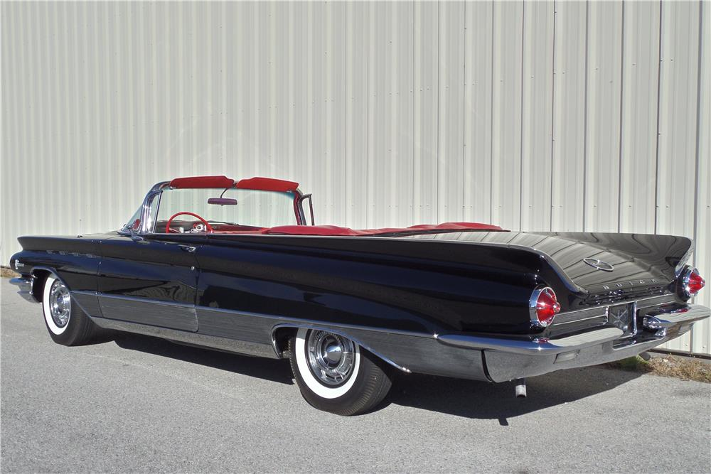 1960 BUICK ELECTRA 225 CONVERTIBLE - Rear 3/4 - 180938