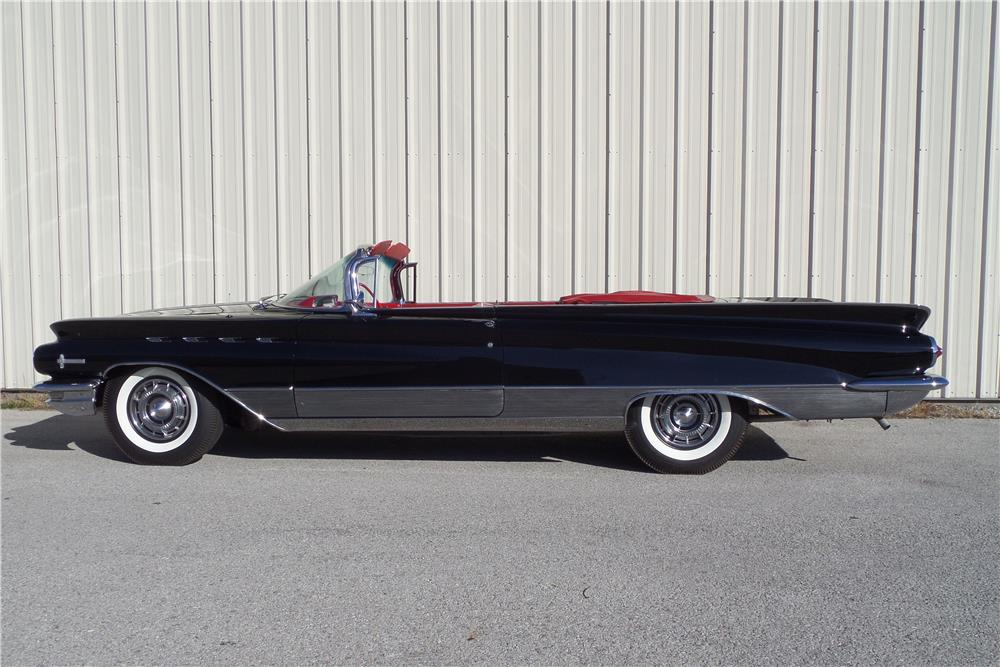1960 BUICK ELECTRA 225 CONVERTIBLE - Side Profile - 180938