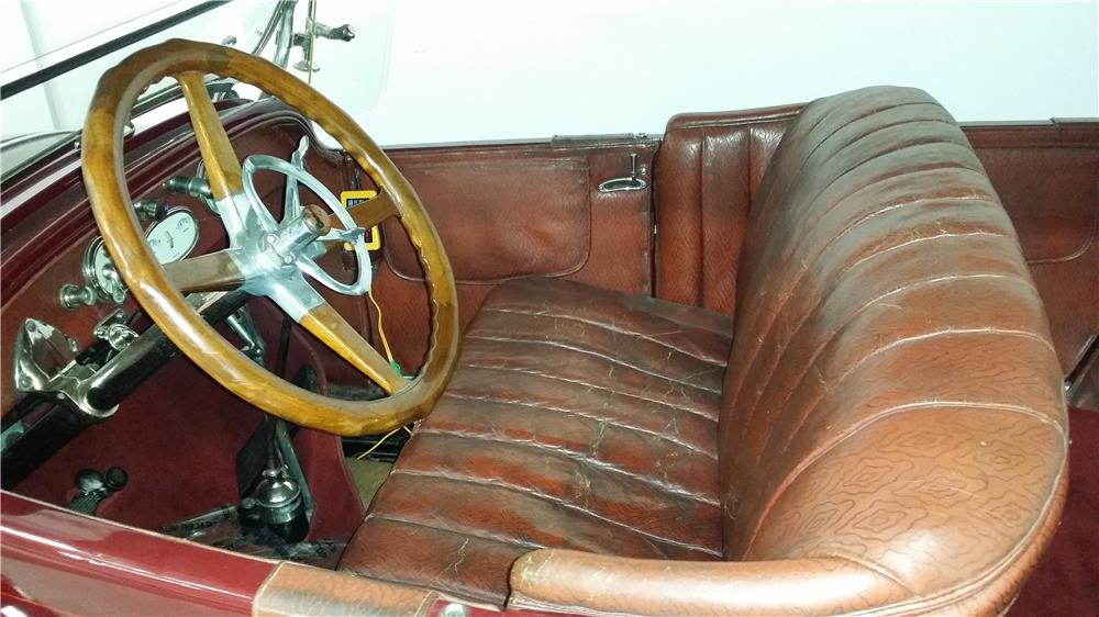 1923 BUICK SERIES 23-55 CONVERTIBLE - Interior - 180940