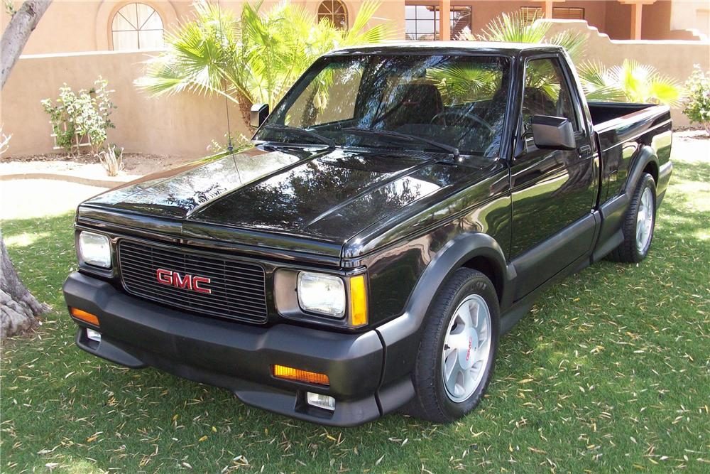 1991 GMC SYCLONE PICKUP - Front 3/4 - 180945