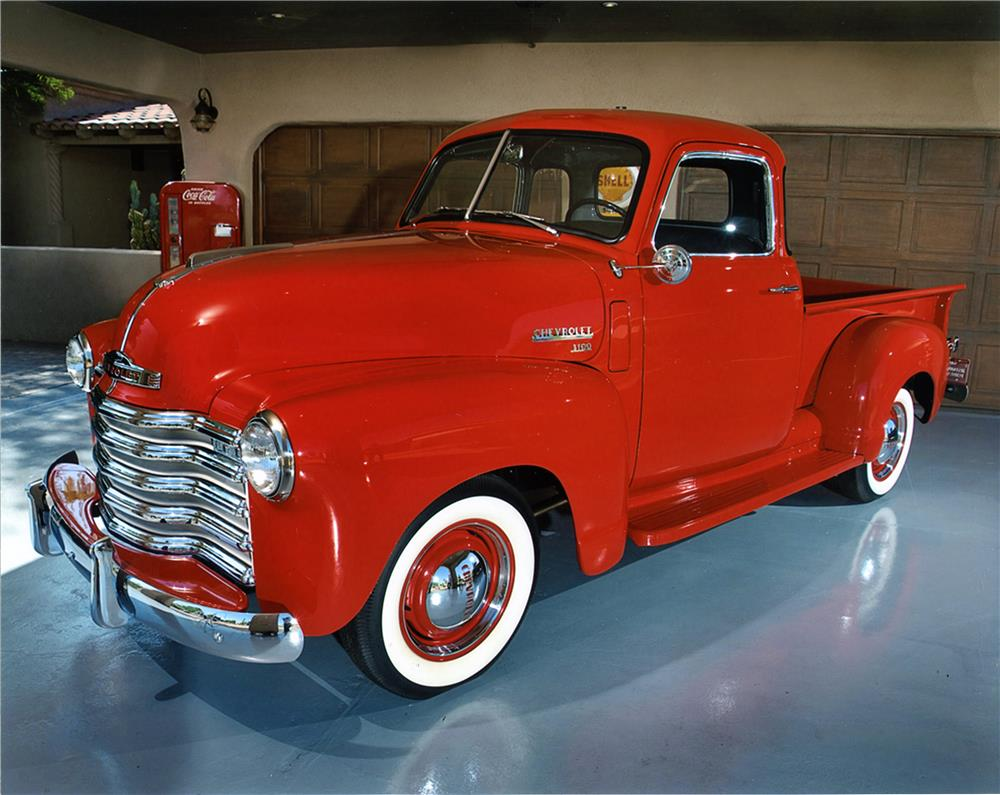1950 CHEVROLET 3100 PICKUP - Front 3/4 - 180955