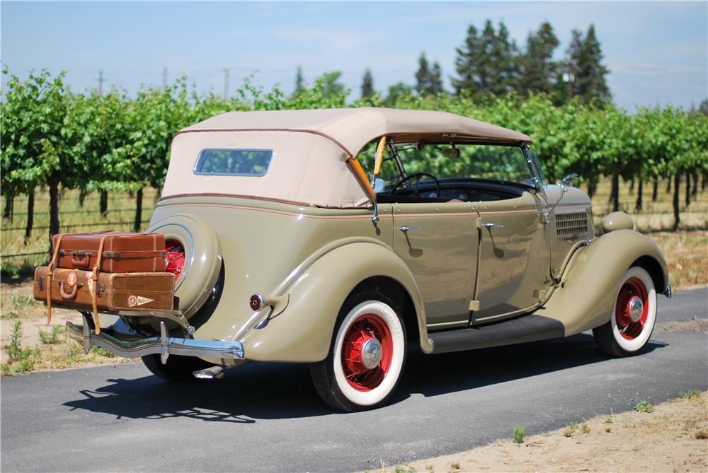 1935 FORD PHAETON  - Rear 3/4 - 180959