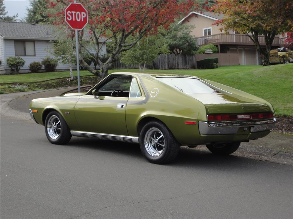 1970 AMERICAN MOTORS AMX - Rear 3/4 - 180970