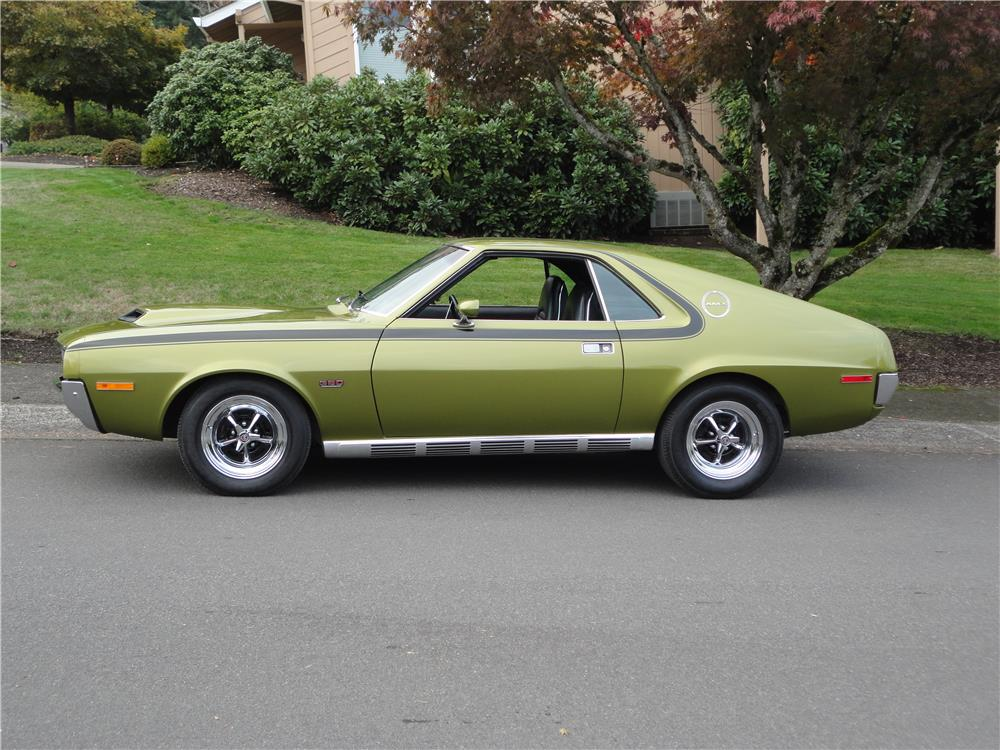 1970 AMERICAN MOTORS AMX - Side Profile - 180970