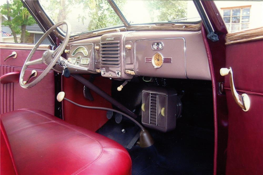 1939 MERCURY 99A SPORT CONVERTIBLE - Interior - 180982
