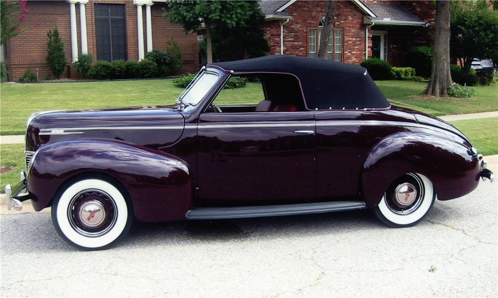 1939 MERCURY 99A SPORT CONVERTIBLE - Side Profile - 180982