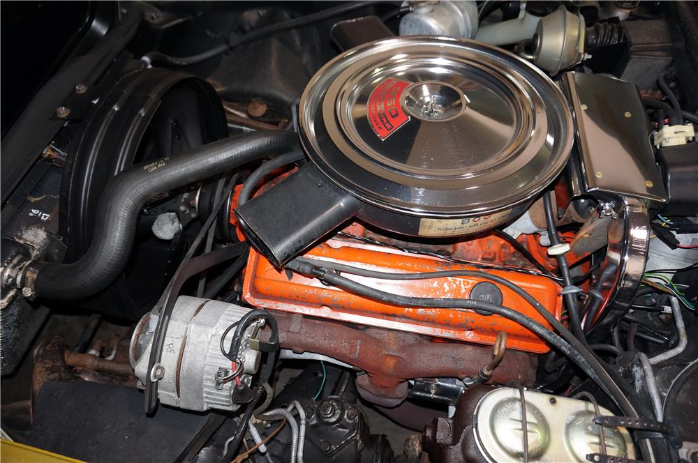 1971 CHEVROLET CORVETTE CONVERTIBLE - Engine - 180995