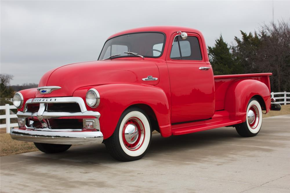 1954 CHEVROLET 3100 PICKUP - Front 3/4 - 180998