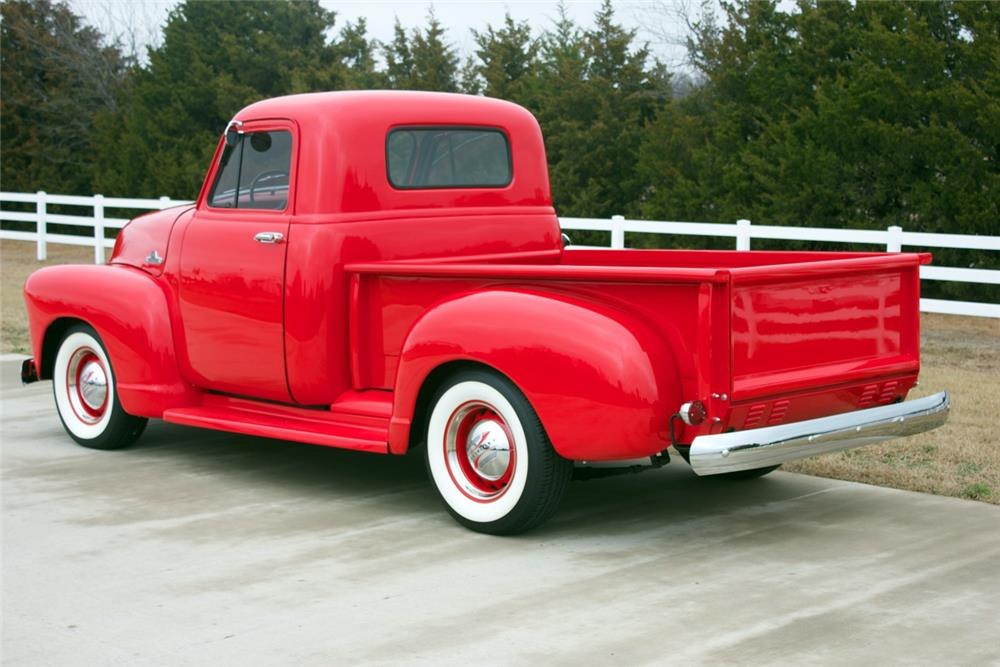 1954 CHEVROLET 3100 PICKUP - Rear 3/4 - 180998