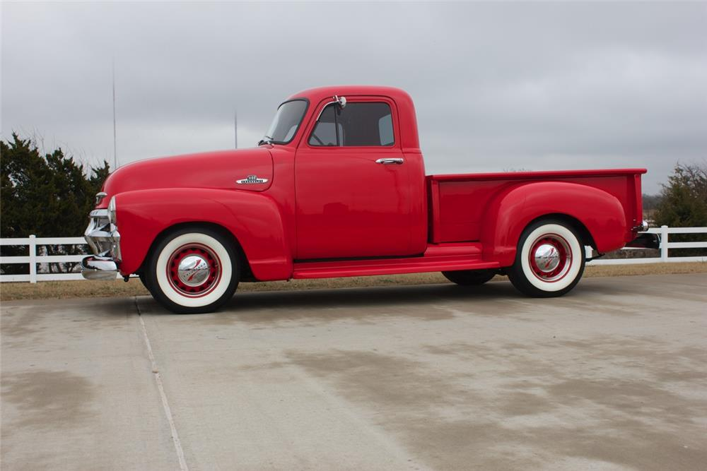 1954 CHEVROLET 3100 PICKUP - Side Profile - 180998