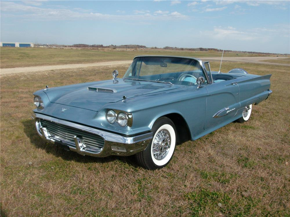 1959 FORD THUNDERBIRD CONVERTIBLE - Front 3/4 - 181000