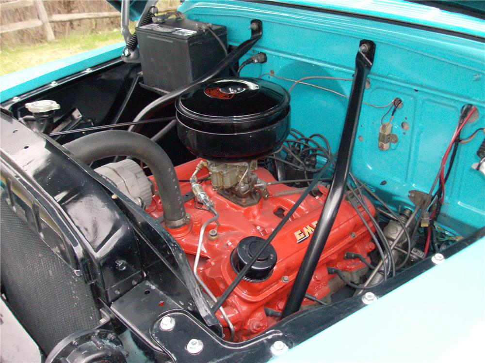 1957 GMC 100 PICKUP - Engine - 181001