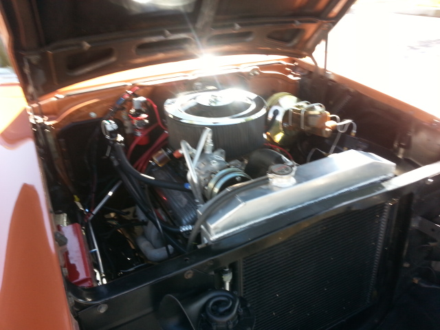 1957 CHEVROLET BEL AIR 2 DOOR POST - Engine - 181004