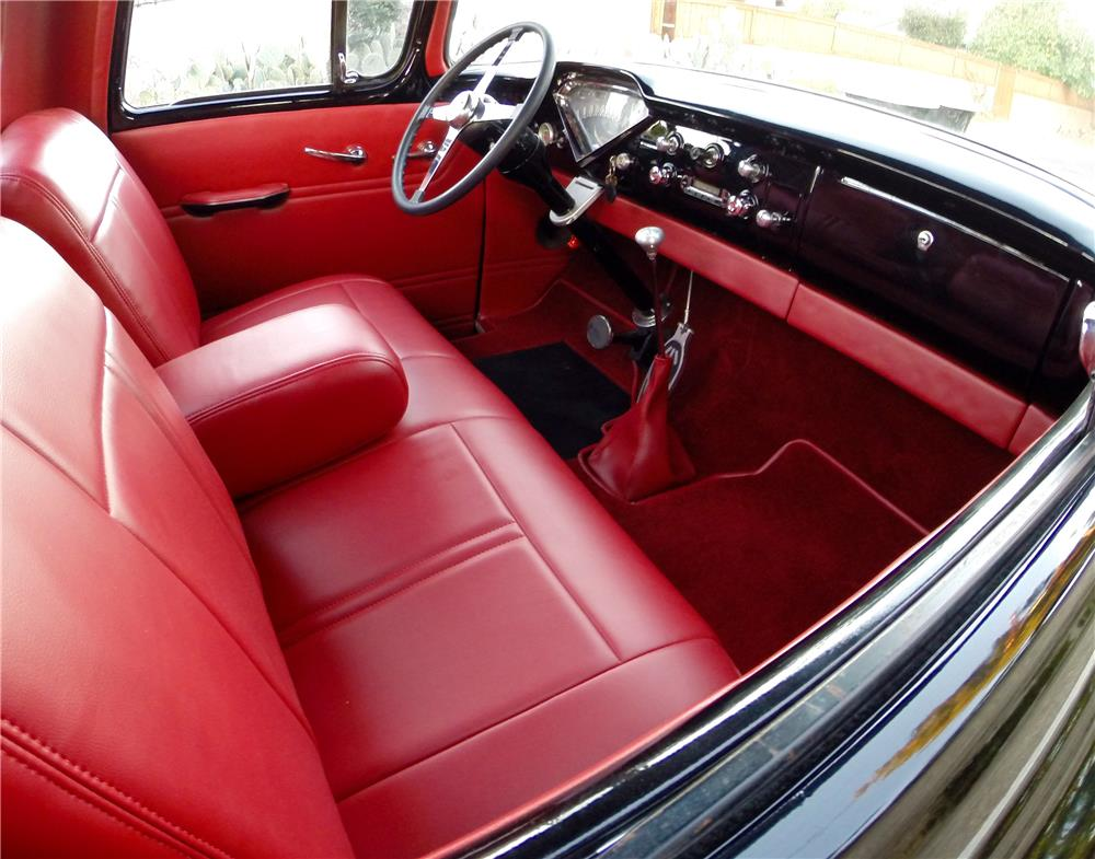 1956 CHEVROLET 3100 CUSTOM PICKUP - Interior - 181018