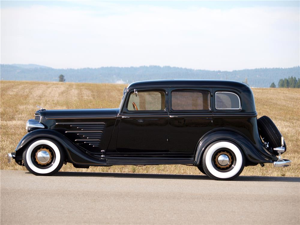 1934 dodge custom 4 door sedan 181022