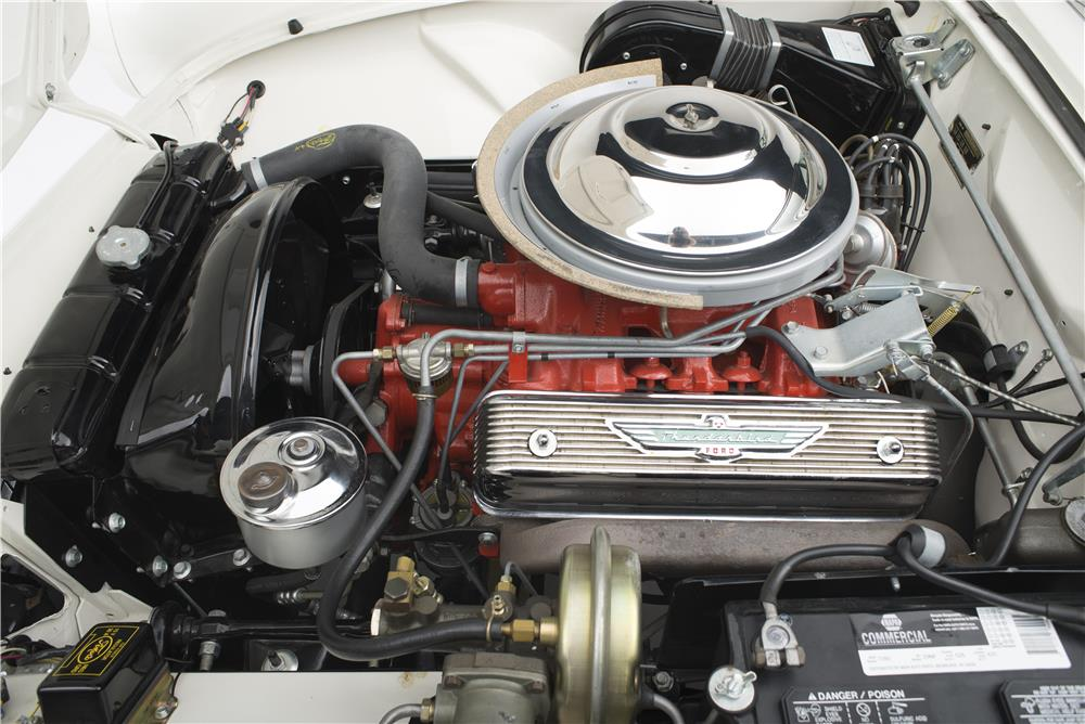 1956 FORD THUNDERBIRD CONVERTIBLE - Engine - 181035