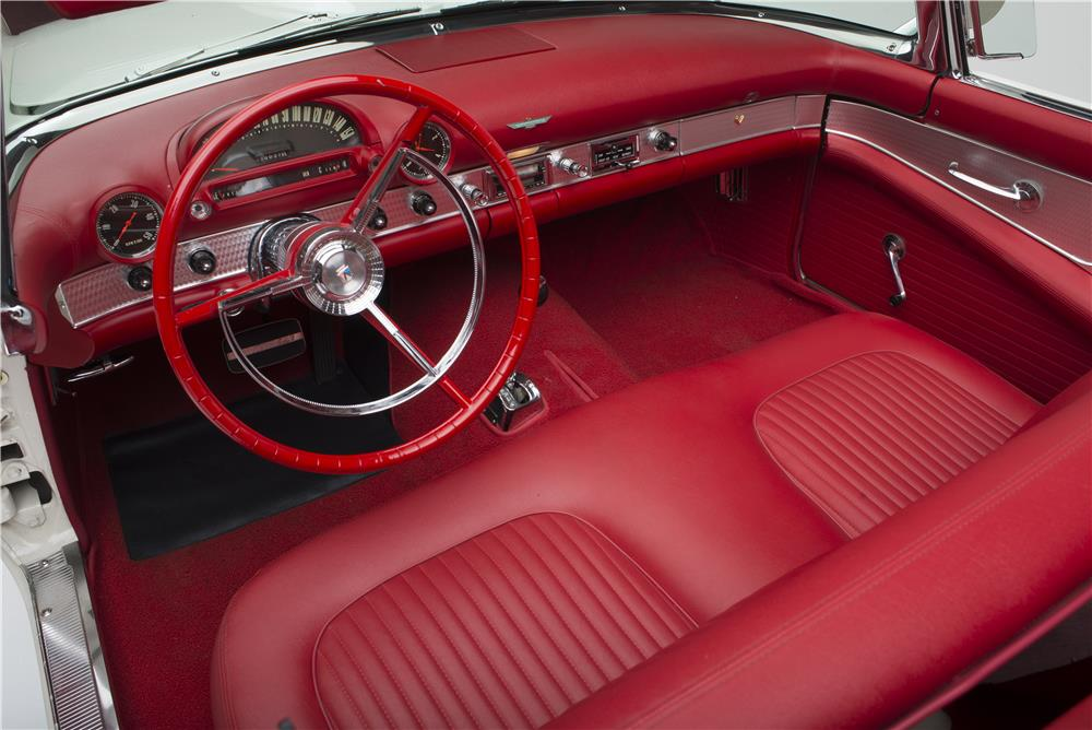 1956 FORD THUNDERBIRD CONVERTIBLE - Interior - 181035