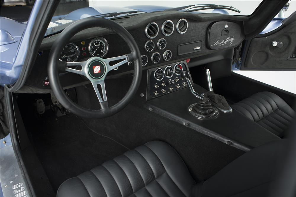 1964 SHELBY COBRA DAYTONA COUPE SEBRING TRIBUTE - Interior - 181038