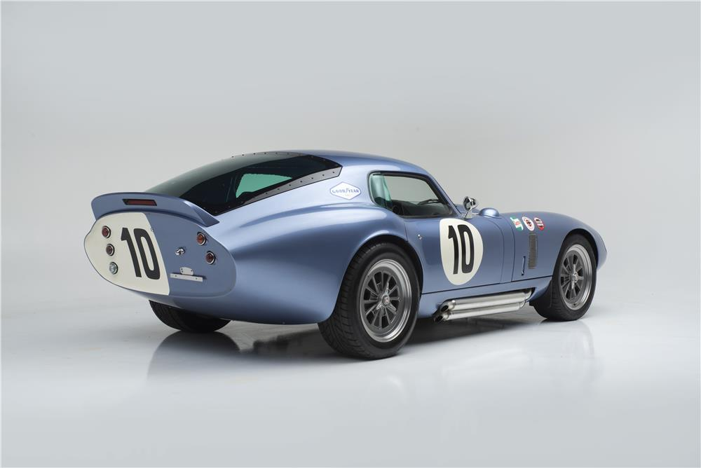 1964 SHELBY COBRA DAYTONA COUPE SEBRING TRIBUTE - Rear 3/4 - 181038