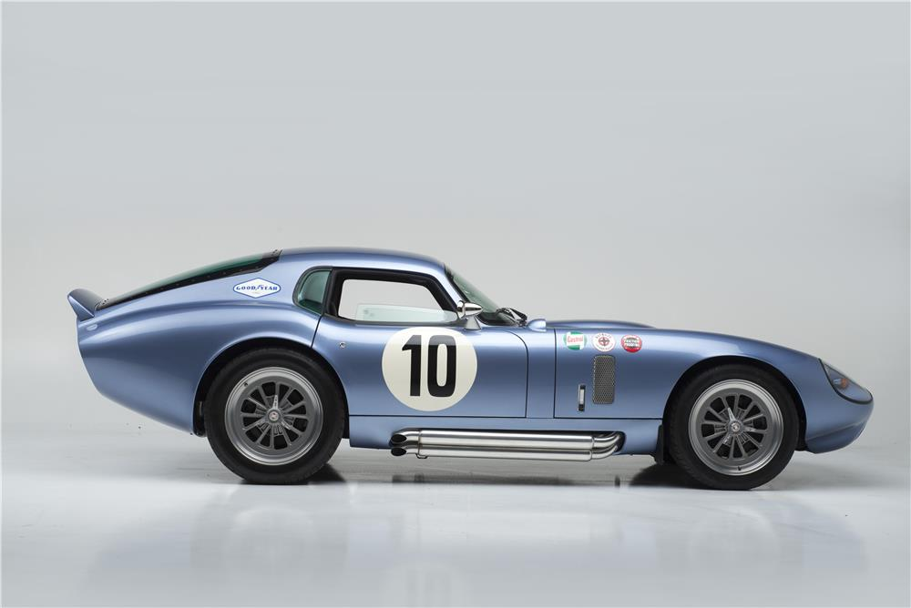 1964 SHELBY COBRA DAYTONA COUPE SEBRING TRIBUTE - Side Profile - 181038