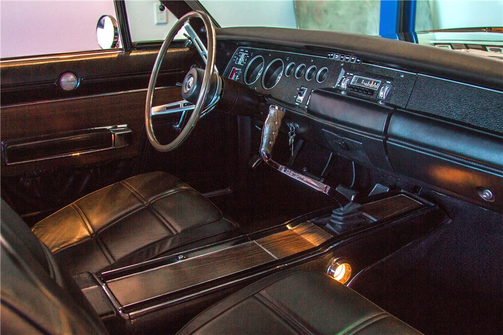 1969 DODGE CHARGER CUSTOM RE-CREATION - Interior - 181039