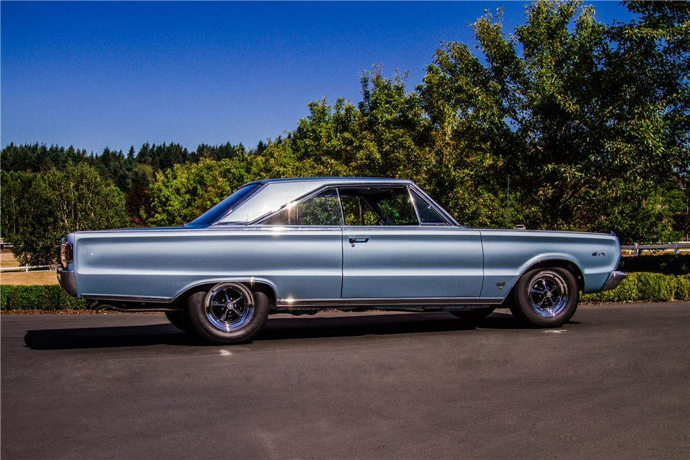 1966 PLYMOUTH HEMI SATELLITE - Side Profile - 181042