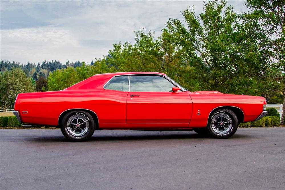 1969 FORD TORINO COBRA - Side Profile - 181055