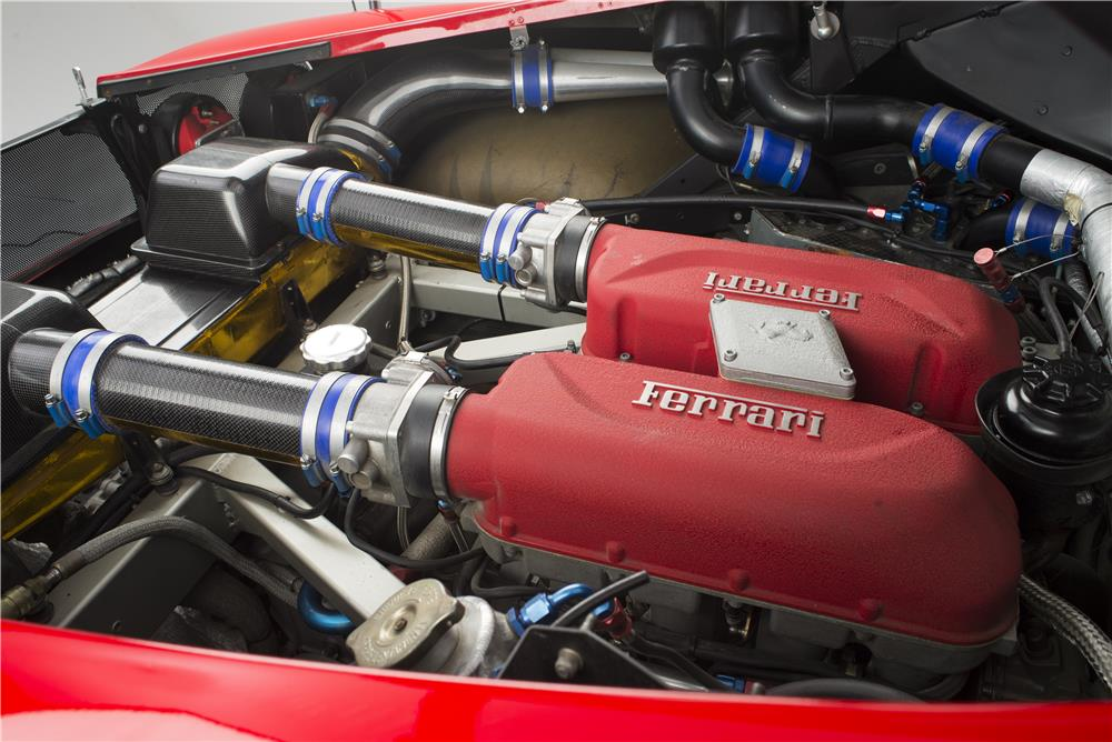 2002 FERRARI 360 MICHELOTTO LEMANS RACE CAR - Engine - 181056
