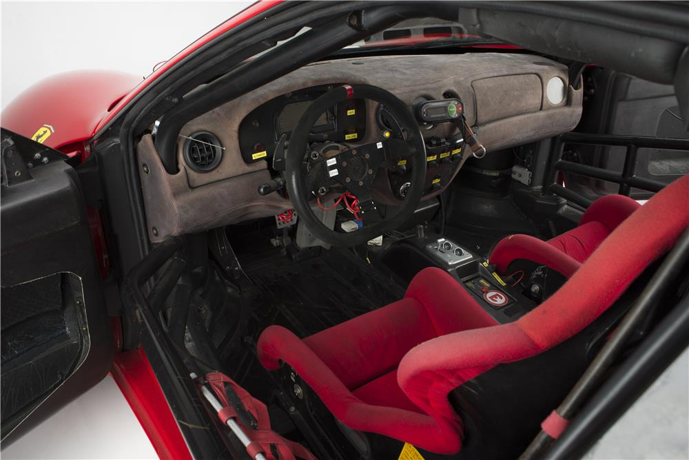 2002 FERRARI 360 MICHELOTTO LEMANS RACE CAR - Interior - 181056