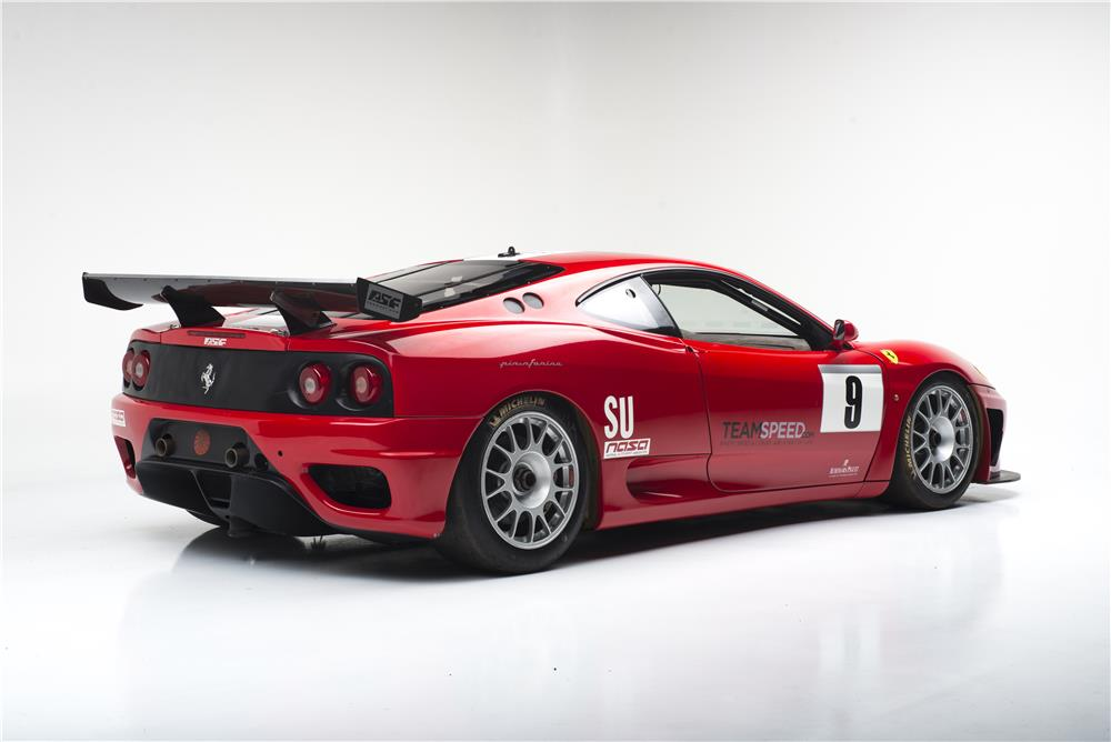 2002 FERRARI 360 MICHELOTTO LEMANS RACE CAR - Rear 3/4 - 181056