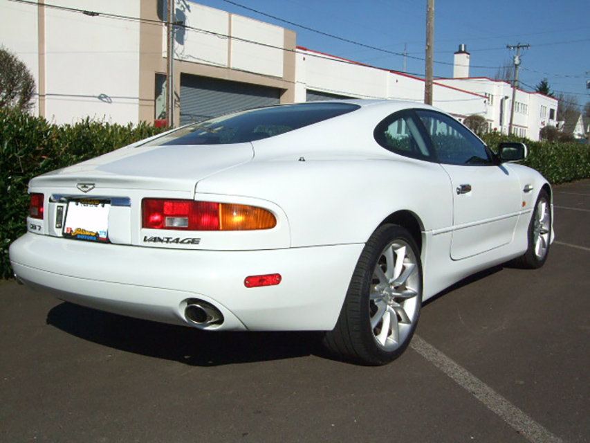2002 ASTON MARTIN DB 7 - Rear 3/4 - 181060