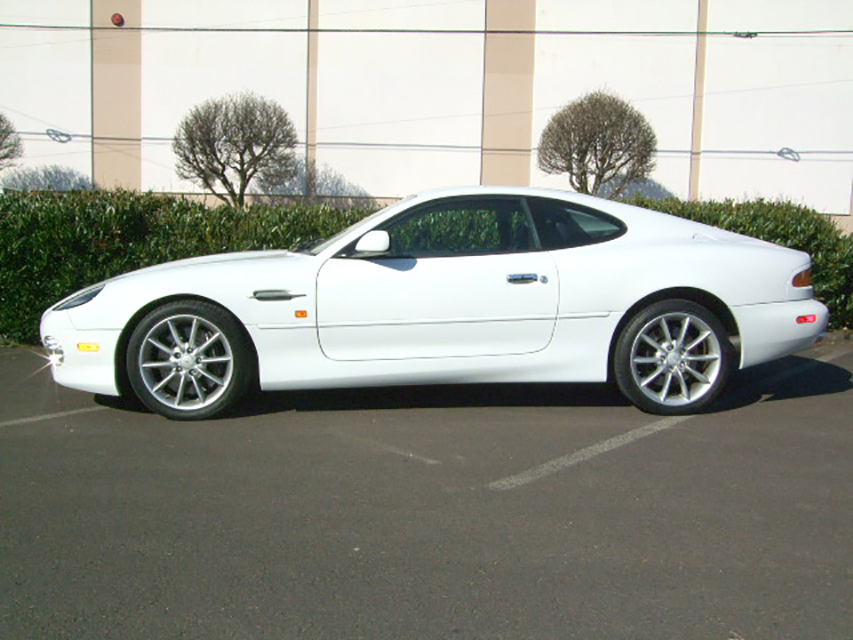 2002 ASTON MARTIN DB 7 - Side Profile - 181060