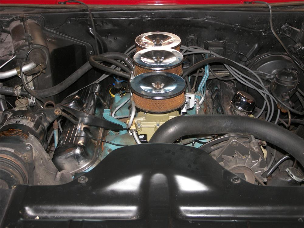 1965 PONTIAC BONNEVILLE CONVERTIBLE - Engine - 181065