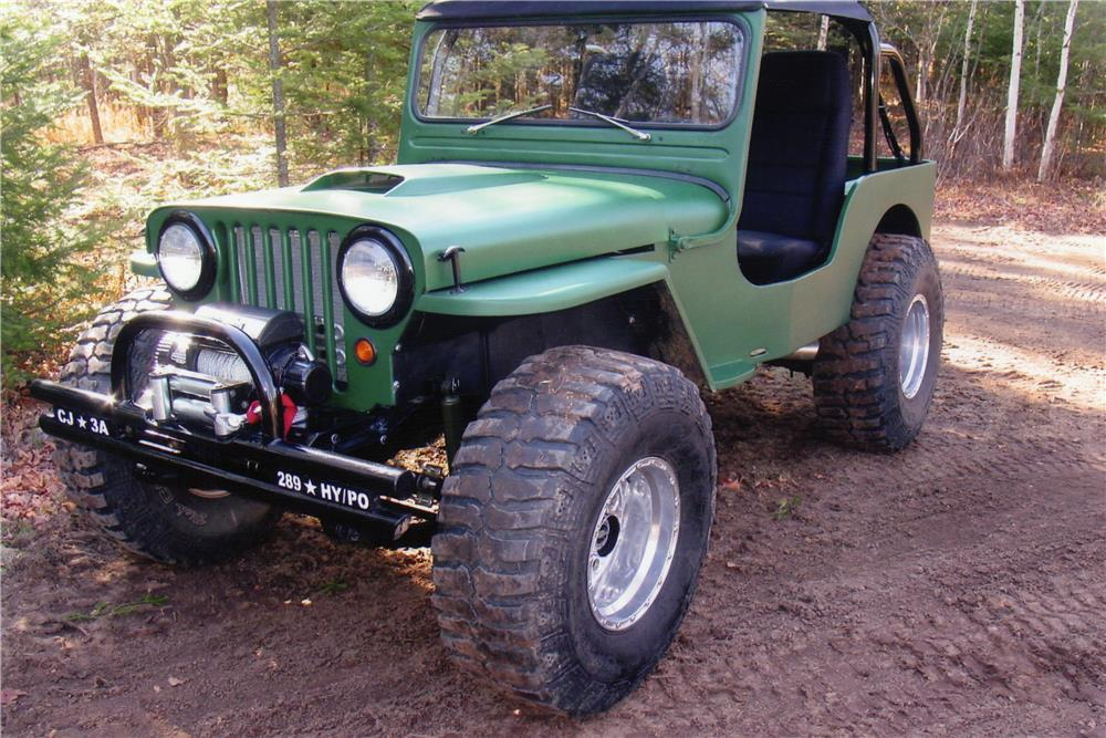 1946 Jeep Willys 1947 WILLYS CJ2A CUSTOM JEEP - 181069