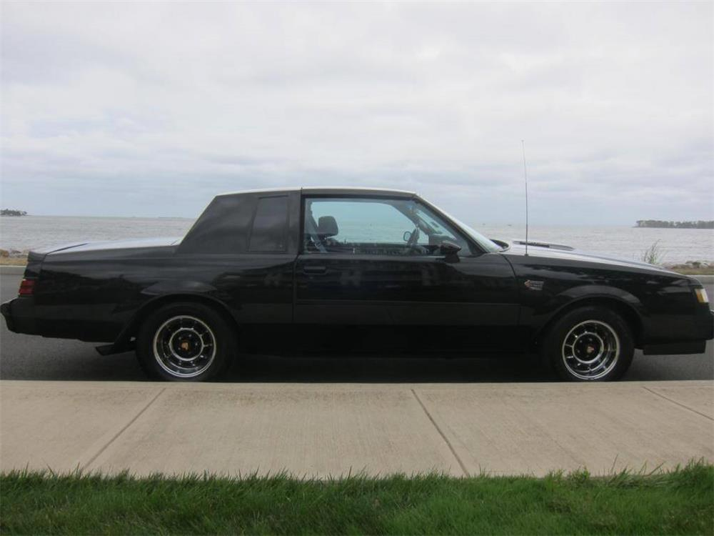 1986 buick grand national 2 door hardtop side profile 181070. Cars Review. Best American Auto & Cars Review