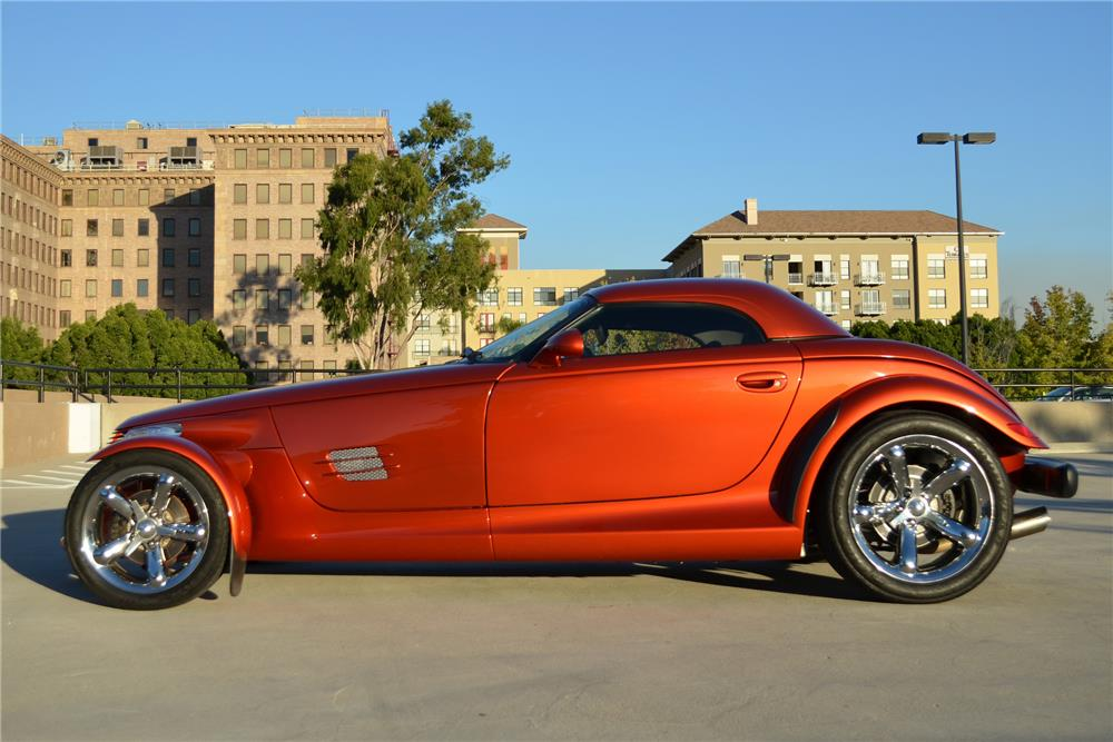 2001 CHRYSLER PROWLER CONVERTIBLE - Side Profile - 181082