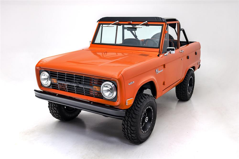 1968 FORD BRONCO CUSTOM SUV - Front 3/4 - 181085