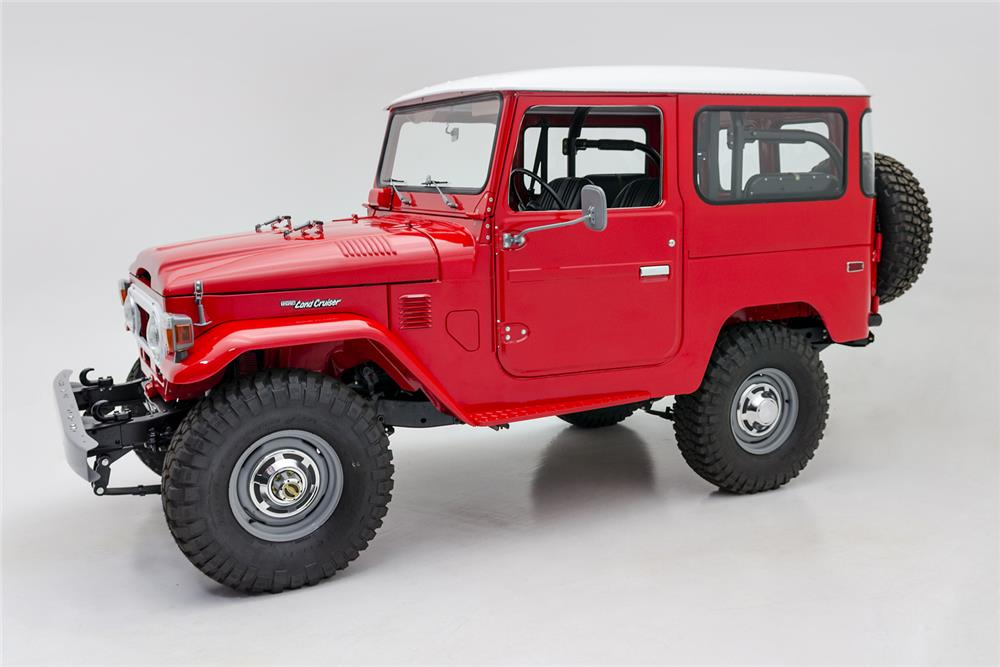 1976 TOYOTA LAND CRUISER FJ-40 SUV - Side Profile - 181090