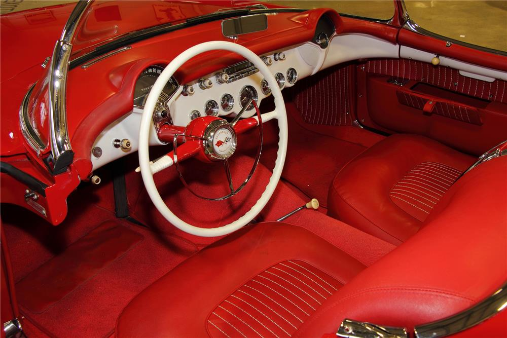 1954 CHEVROLET CORVETTE CONVERTIBLE - Interior - 181097